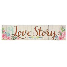 """Наклейка на номера авто """"Love story"""""""