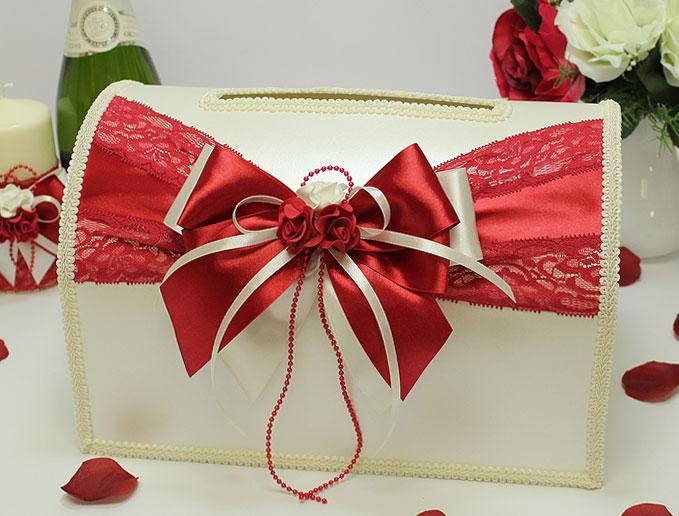 Украшение свадебных подарков